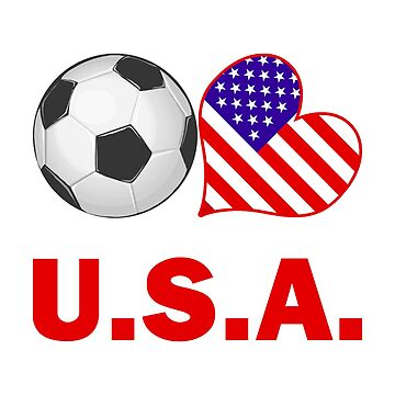 USA Soccer Fan by CafePretzel