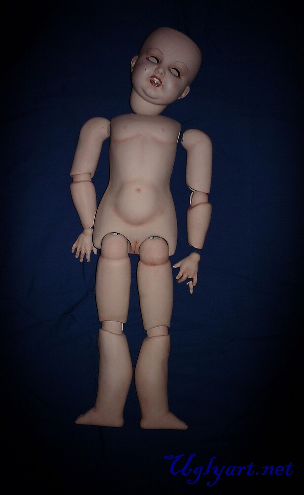Victorian Ball Jointed Doll I by uglyshyla