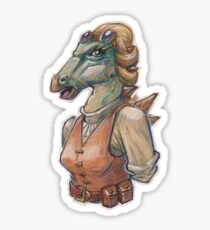 Polacanthus engineer Sticker