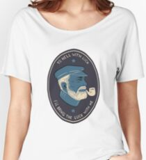 Sailor with pipe Women's Relaxed Fit T-Shirt