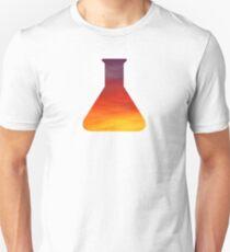 Evening Skies Science Beaker Unisex T-Shirt