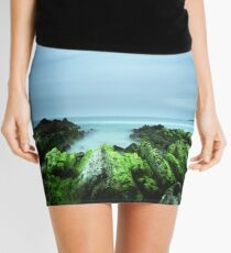 """Beachular Mosstrophy"" ∞ Barragga Bay, NSW - Australia Mini Skirt"