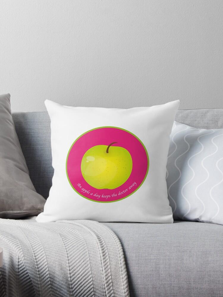 « An apple a day keeps the Doctor away » par RosaLeeDesign