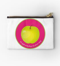 An apple a day keeps the Doctor away Pochette