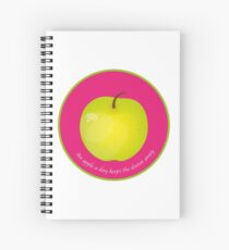 An apple a day keeps the Doctor away Cahier à spirale
