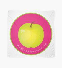 An apple a day keeps the Doctor away Foulard
