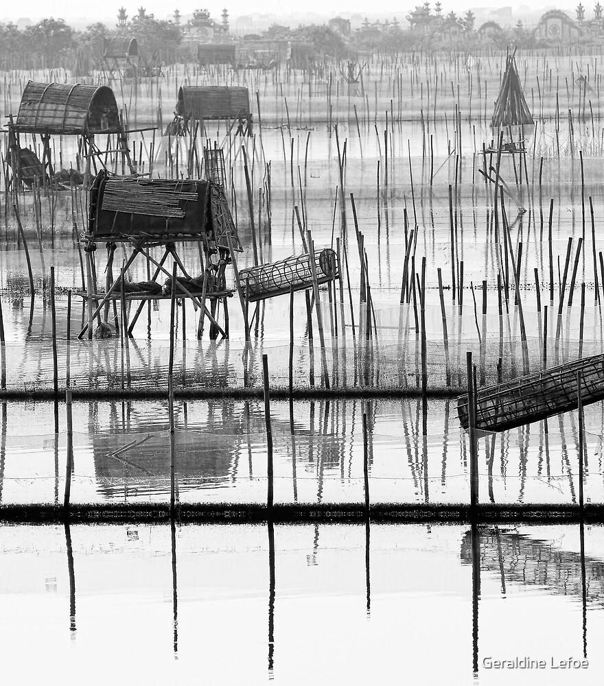 Fishtraps2 by Geraldine Lefoe