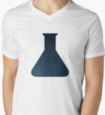 Starry Skies Science Chemistry Beaker Men's V-Neck T-Shirt