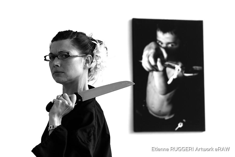 Bloody sister by Etienne RUGGERI Artwork