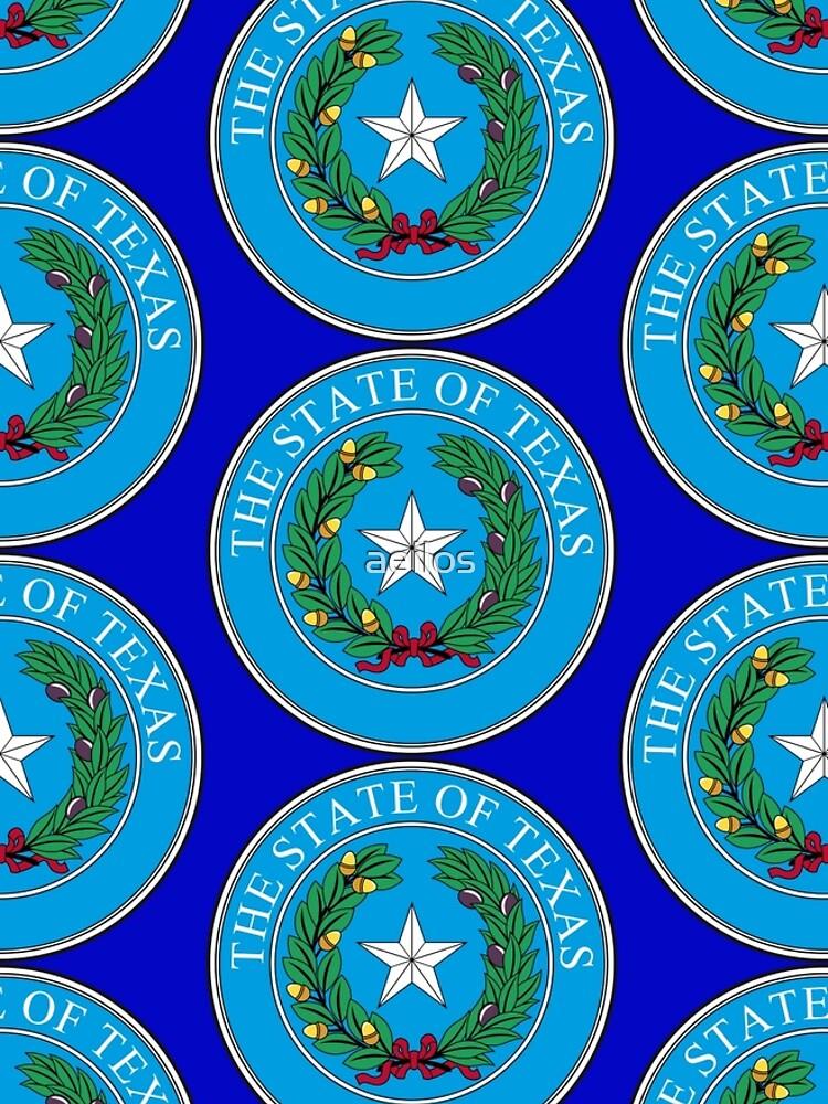 Seal of Texas by aeilos