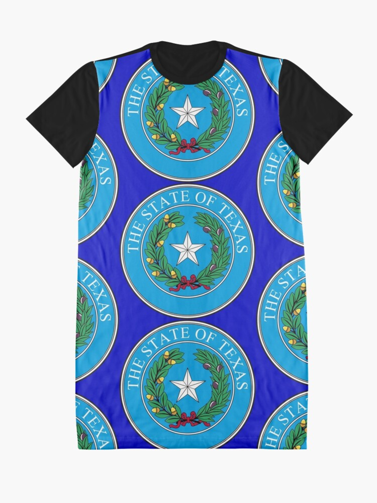 Alternate view of Seal of Texas Graphic T-Shirt Dress
