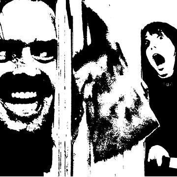 Here's Johnny! - The Shining by Chanash
