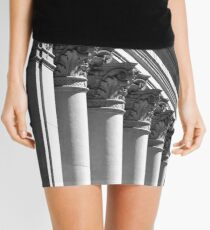 Row of classical columns Mini Skirt