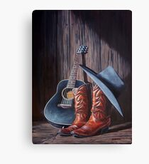 """Boots"" Canvas Print"