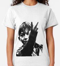 Kes retro Film set in Barnsley 1969 Classic T-Shirt