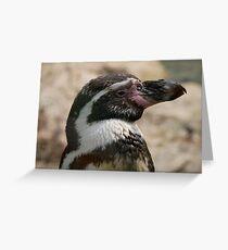 cute penguin design Greeting Card