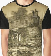 A Permanent Observatory Station on the Summit of Ben Nevis 1883 to 1904 Graphic T-Shirt