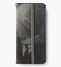 René Magritte – The Lovers (Paris 1928) iPhone Wallet/Case/Skin