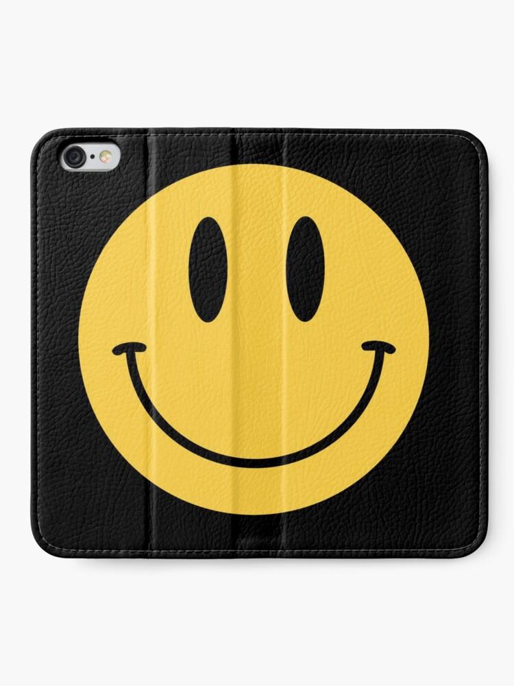 Smile face classic emoji iphone case