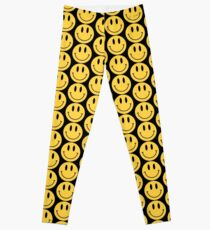 Smiley Face - Smiley Face Emoji - Classic 90's style Leggings