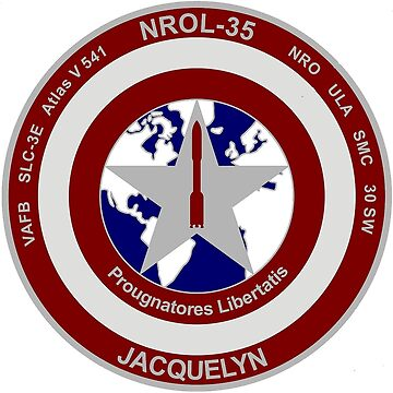 NROL 35 Launch Team Logo by Spacestuffplus