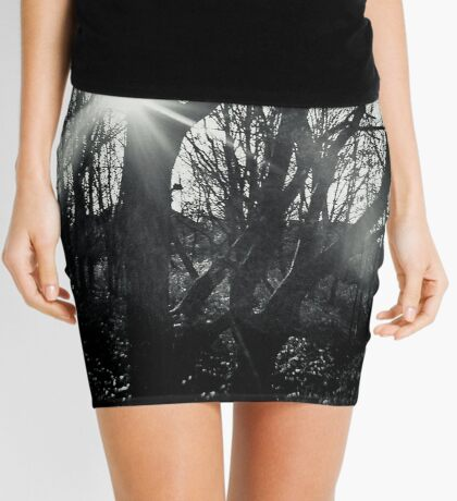 Out of the Dark Mini Skirt