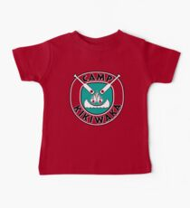Camp Kikiwaka - Bunk'd - red background Baby Tee