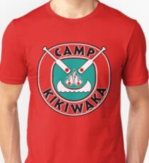 Camp Kikiwaka - Bunk'd - red background Unisex T-Shirt