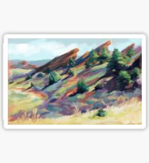 Red Rocks Park near Morrison, Colorado Sticker