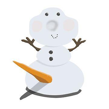 Funny Snowman by jchu231