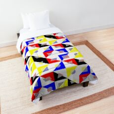 Bauhaus Checker Pattern Comforter