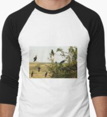 One Of These Birds Is Not Like The Others! Men's Baseball ¾ T-Shirt