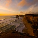 Sunset, Twelve Apostles by Wayne Harris