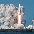 SpaceX Falcon Heavy Demo Launch by Ron Dubin