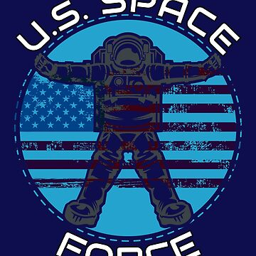 US Space Force Fourth Military Astronaut by MMadson