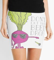 Don't Let the Beet Drop! Mini Skirt