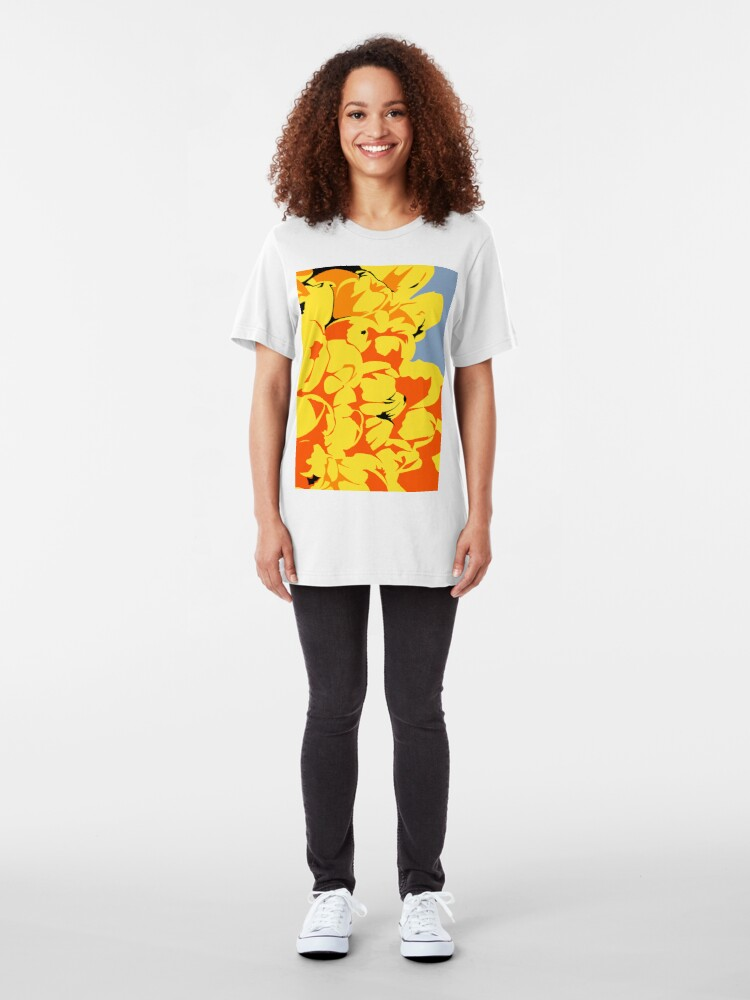 Alternate view of Tulips Slim Fit T-Shirt