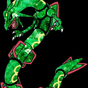 Emerald Rayquaza by pokwisy