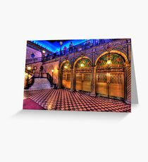 Treasure - The Capitol Theatre - The HDR Experience Greeting Card