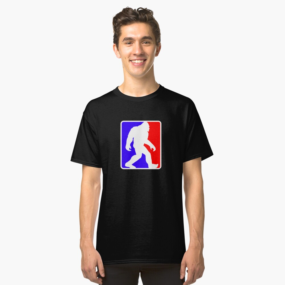 Major League Bigfoot Classic T-Shirt Front