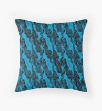 Printed Abstract Throw Pillow