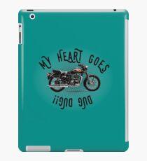 My Heart Goes Dug Dug!! iPad Case/Skin