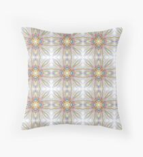 explosion abstract geometric seamless colorful repeat pattern Floor Pillow