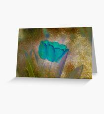 Modern tulips Greeting Card