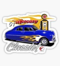 51 merc Sticker
