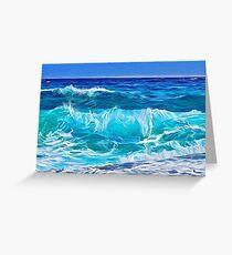 Ocean Waves  Greeting Card