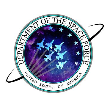 Space Force Logo by nostalgiagame