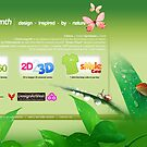 Chlorosynth:: design.inspired.by.nature. Official Website by Tridib Ghosh