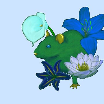 Chinese Zodiac Lucky Colours and Flowers Rat by KristalStittle