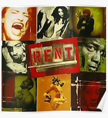 RENT The Musical  Poster